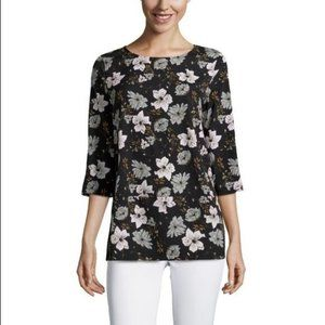 French Connection floral blouse